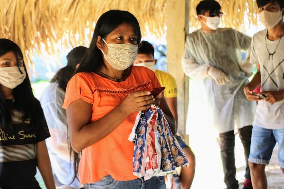 Photos distributions projet Cestas Basicas
